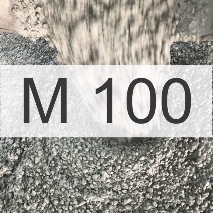Бетон М100 (КЛАСС В 7,5)